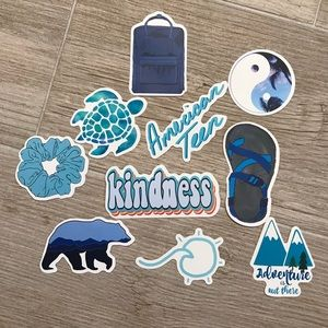 10 VSCO Stickers